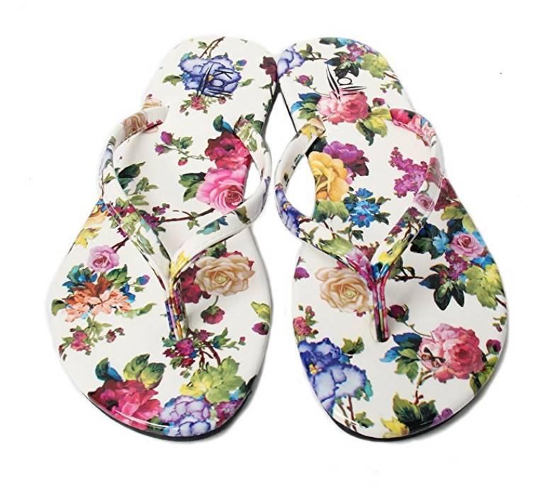 Kali footwear womens glitter flip flops white flower lifestyle fun kali footwear womens glitter flip flops white flower mightylinksfo